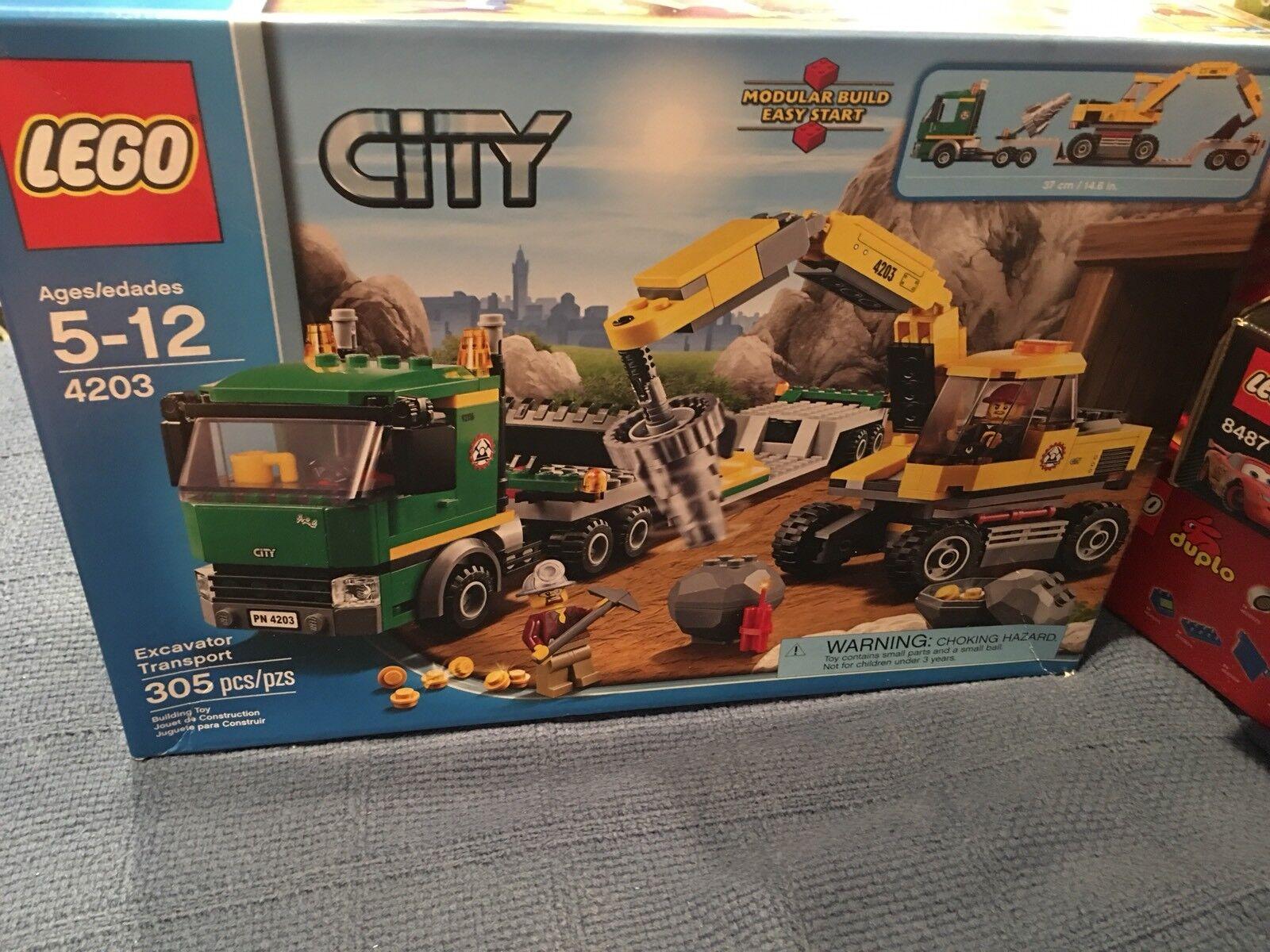 miglior prezzo migliore LEGO LEGO LEGO Excavator Transport Set 4203 - nuovo  Ritorno di 10 giorni