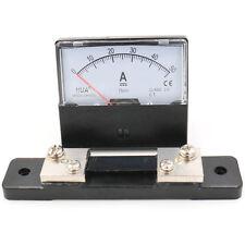 Analog Amp DH-670 75mV Panel Amperemeter Strom Meßgerät DC 0-50A + Shunt