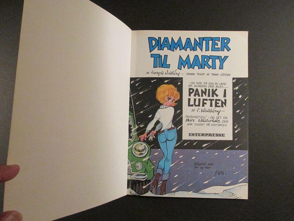 Tegneserier, Natacha. Album nr. 2: Diamanter til Marty.