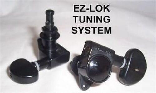SET OF 3X3 WILKINSON EZ-LOK KYDNEY BEAN HEAD TUNERS// BLACK