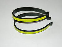 Reflective Trouser Clips Cycle - Bicycle Clips, Hi Vis Visibility Reflectiv Bike