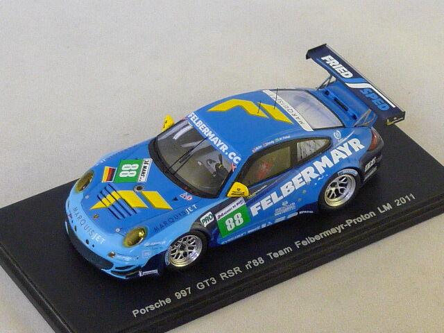 Spark S3420 - Porsche 997 GT3 RSR N°88 Felbermayr Prougeon Le mans 2011 1 43