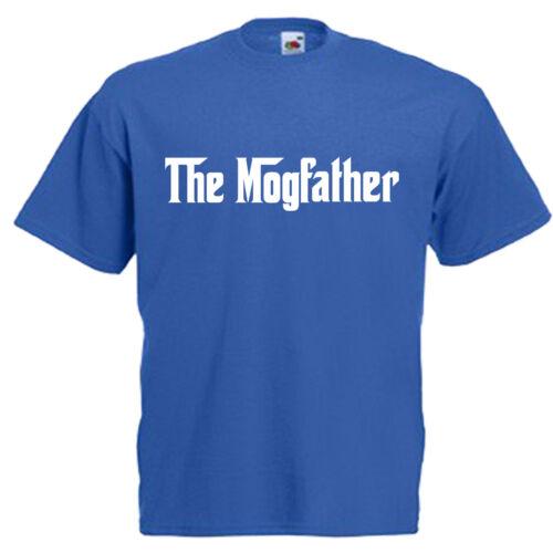 Mogfather Cat Lover Adults Mens T Shirt 12 Colours Size S 3XL