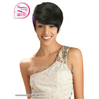 Sensual Vella Vella Collection Synthetic Short Bang Full Wig - Alexis