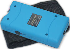 Blue Self Defense Kit Stun Gun and Keychain Pepper Spray
