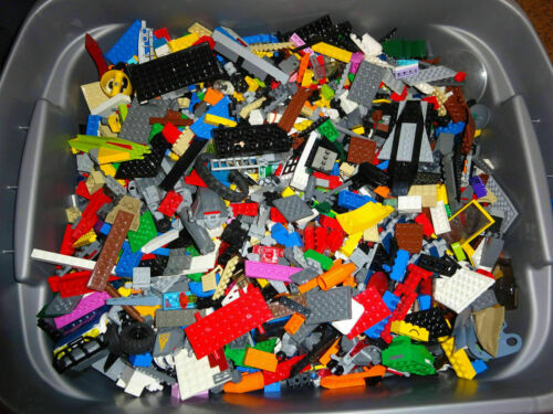 LEGO Bulk Lot of 7 Pounds Bricks Parts and Pieces Clean Genuine 7 Lbs Grab Box