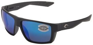 bc906b84de Costa Del Mar Bloke Sunglasses BLK-124-OBMGLP Black Grey 580G Blue ...