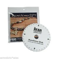6 Inch Dense Foam Kumihimo Round Disk Plate Japanese Braids W/ Instructions Disc