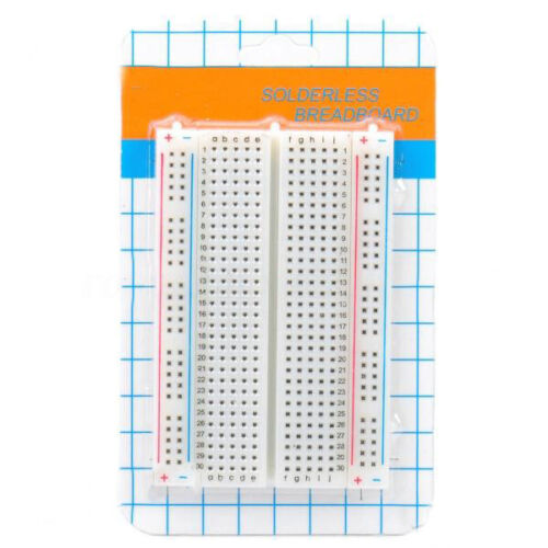 400 Holes Points Breadboard Solderless Prototype White For Arduino /% @*-*