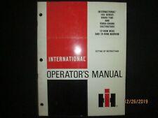 International Harvester 183 Vibra Tine Snank Cultivator Operators Set Up Manual