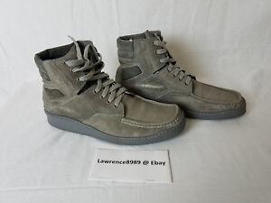 vente chaude en ligne e106c e2056 Details about YSL Puma Collaboration 2009 Beautiful Leather High Top Police  Sneaker Gray 11.5