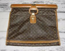 LOUIS VUITTON~AUTHENTIC~VINTAGE~MONOGRAM~TRAVEL LUGGAGE~ZIPPER GARMENT COVER BAG