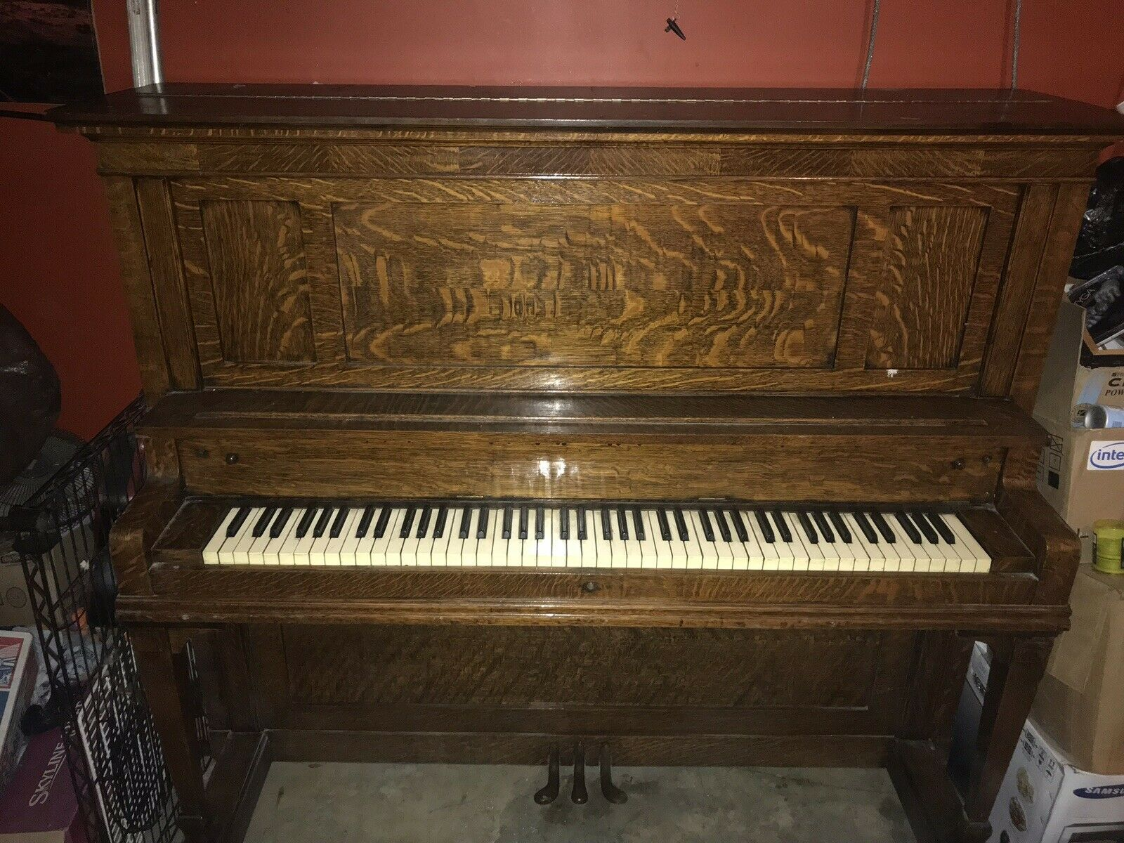 Cable-Nelson Upright Piano der 1920er Jahre