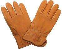 Mens Deerskin Gloves - Brown - Leather - By Indian Motorcycle