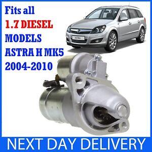 Encaja-OPEL-VAUXHALL-ASTRA-H-Mk5-2004-2010-1-7-CDTi-Diesel-Nuevo-Motor-De-Arranque