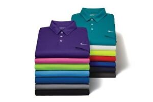 New-Men-039-s-Nike-Short-Sleeve-Athletic-Gym-Muscle-Sport-Dri-Fit-Polo