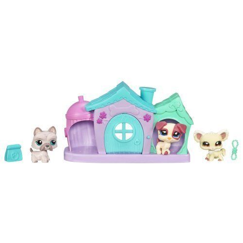Littlest Pet Shop Puppies Mini Mini Mini Playset with 3 Exclusive Pets by Hasbro a54fce