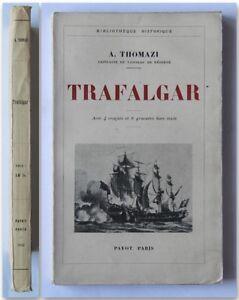 Thomazi-TRAFALGAR-1932-Payot-prima-edizione-battaglia-navale-di-Trafalgar