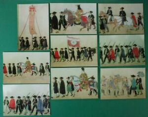 9-Postkarten-Hongkong-Museum-of-Art-nicht-gelaufen-unbeschriftet-B15917