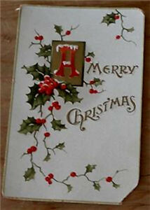 Nice-Vintage-Paper-Gift-Tag-GOOD-COND