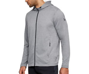 f5479104dd Details about Under Armour UA Men s French Terry Tech MK-1 Full Zip Hoodie  - Size 2XL - NWT