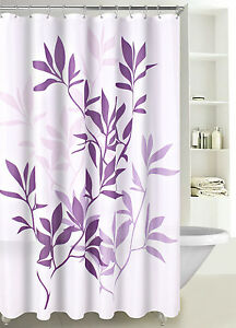 Fabric-Shower-Curtain-Multicolor-Forest-Leaves-with-Reinforced-Grommets-SC-03