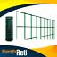 RETE-PER-RECINZIONE-METALLICA-PLASTIFICATA-VERDE-MAGLIA-75X50-ML-25 miniatura 1