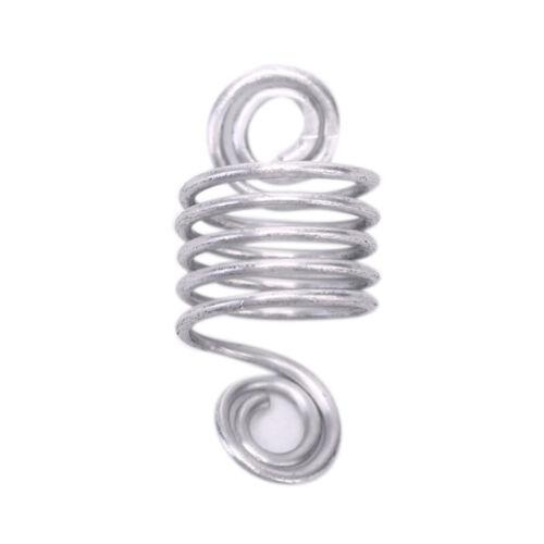 110pcs//Set Hair Braid Dreadlock Beads Braiding Hair Extension Accessories Ne RAS