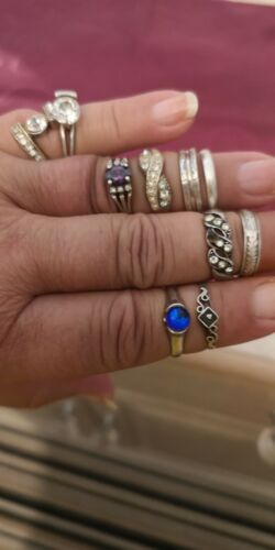 Nice silver rings size O