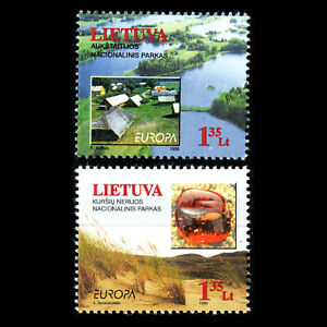 Lithuania 1999 - EUROPA Stamps - Nature Reserves and Parks - Sc 628/9 MNH