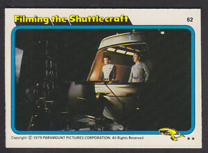 Topps-Star-Trek-The-Motion-Picture-1980-62-Filming-the-Shuttlecraft
