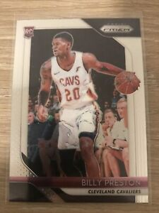 2018-19 Panini Prizm Base ROOKIE RC #19 Billy Preston Cleveland Cavaliers Mint