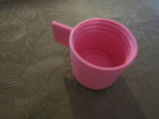 Fisher Price Fun with Food Lunch Thermos Pink LID Replacement Part Piece Toy 638