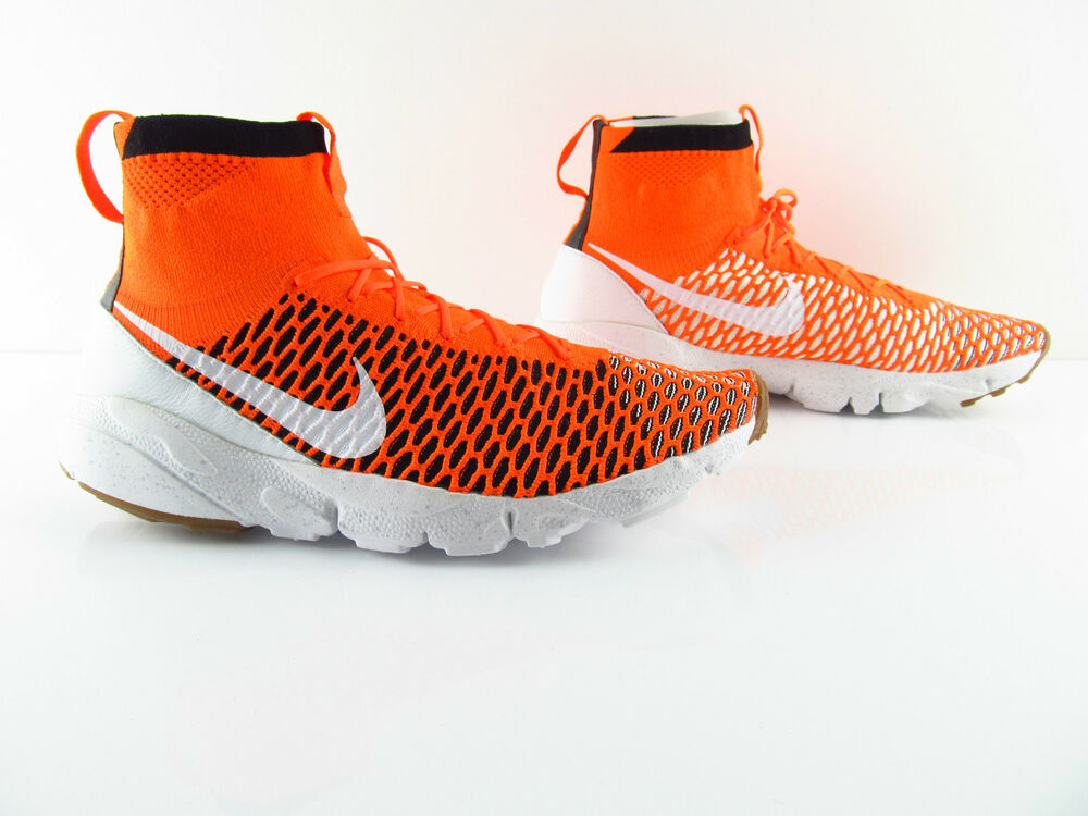 Nike Air Footscape Magista sp nikelab Netherlands Orange Dutch us_13 eu 47.5- Chaussures de sport pour hommes et femmes