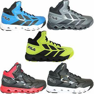 09c9d468 Details about Mens Fila TORRANADO Athletic Mid Basketball Shoes