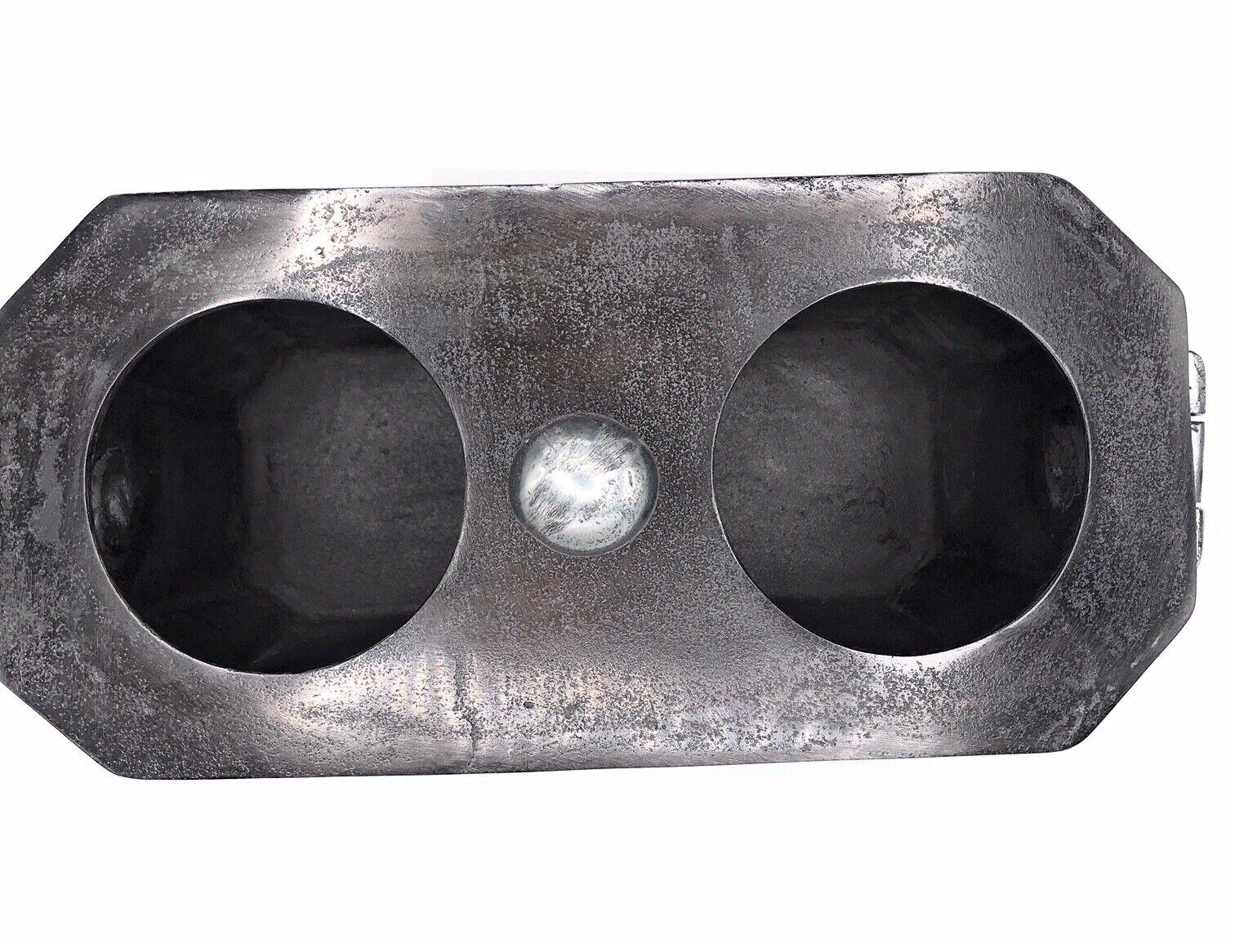 Hazenkamp 2er acheté Aluminium Noir Argent SEKTKüHLER Bouteilles Refroidisseur 54177