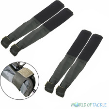 Rod Protectors Tip & Butt 2 x Pairs Neoprene for Carp Sea Match Fly Fishing Rods