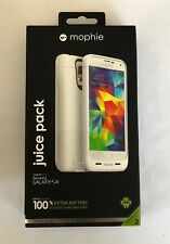 official photos 594cc bf217 mophie Juice Pack 100 for Samsung Galaxy S5 Extra Battery Case White  810472023274