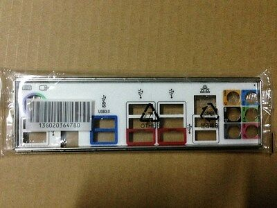 original ATX Blende I//O shield Asus Z87 deluxe io backplate bracket new #G222 XH