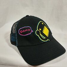 DOMO KUN JAPANESE BLACK COLORFUL ADJUSTABLE SNAPBACK TRUCKER HAT BASEBALL CAP