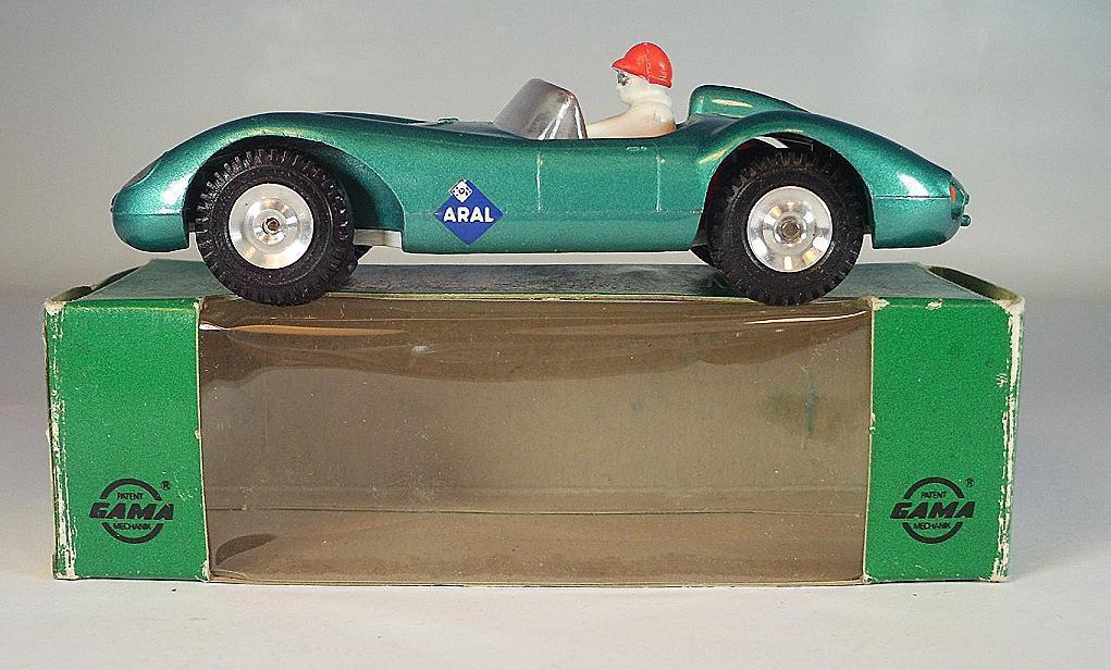 Gama mini - mod - 1   46 nr. 9610 ferrari 500 trc cabrio gr ü nmetallic nr. 4 ovp   6383