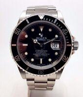 Rolex Submariner Stainless Steel Gents Watch 16610T (2709)