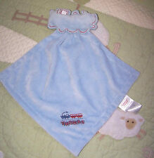 The Thomas and Friends Train The Tank Engine Blue Plush Security Blanket Rattle