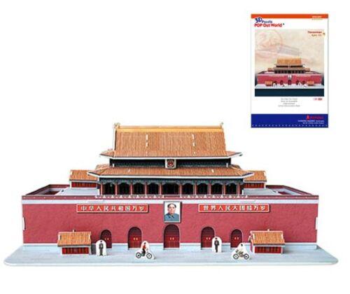 3D Puzzle Tiananmen China 51 Teile ab 10 Jahre 3D Puzzles