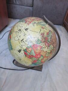 Detalles esfericaTierra de terraqueolampara de Detalles Esferamapamundiantiguoglobo wNnm8v0