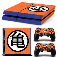 PS4 Skin & Controllers Skin Vinyl Sticker For PlayStation 4 Dragon Ball Z Log