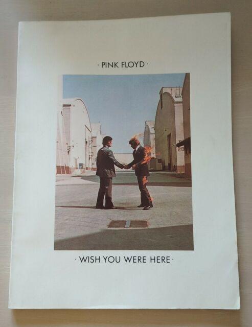 PINK FLOYD WISH YOU WERE HERE - LIBRO CON IMMAGINI TESTI MUSICA ACCORDI -USATO