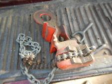 Older Ridgid No64a Chain Post Pipe Vise
