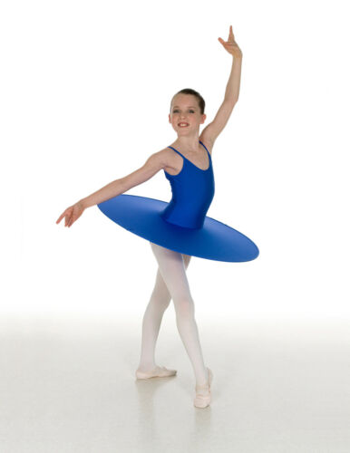 Saucer Tutu Contemporary Modern Ballet Competition Costume Lycra Skirt w//Leotard
