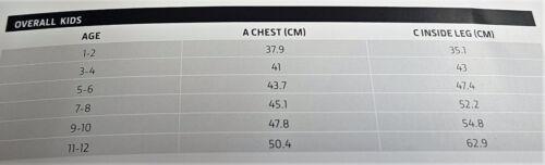 John Deere Children/'s Deluxe Overalls Sizes 1-2yrs 11-12yrs
